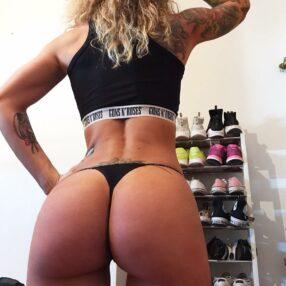 Sandra Galera precioso culo y tatuada