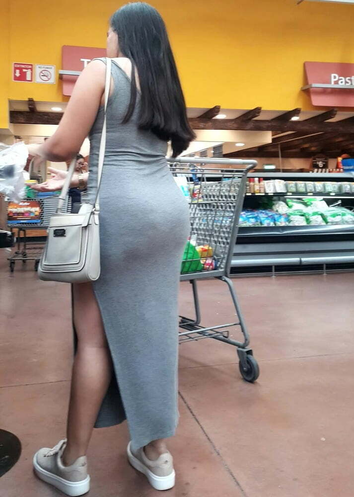 fotos señoras culonas, mujeres marcando culos, supermercados